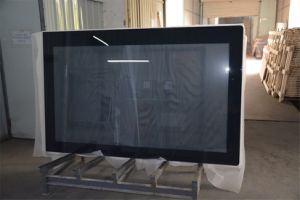 Black Silk Screen Printed Tempered Glass for Table Top pictures & photos