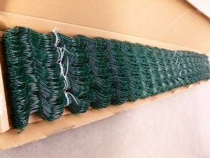 Zigzag Wire for Film Lock in Greenhouse, Plastic Coated Spring Wire pictures & photos