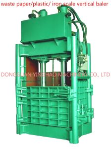 Waste Paper/Plastic/Iron Scale/Garbage Vertical Baler