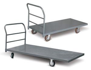Heavy Steel Platform Hand Cart pictures & photos