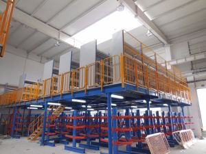 Warehouse Storage Mezzanine Rack, Loft Rack pictures & photos