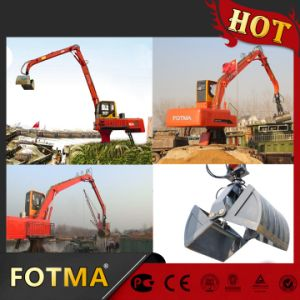 Log Grapple / Log Grab on Excavator Radius Can Be Designed pictures & photos