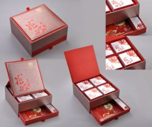 Luxury Paper Gift Box for Moon Cake with Two Layers pictures & photos