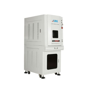 Fiber Laser Marking Machine with Enclosed Cabint pictures & photos