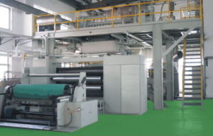 High Speed PP Non Woven Fabric Making Extruding Machine pictures & photos