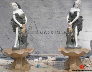 Carved Granite Statue / Sculpture Garden Water Fountains pictures & photos
