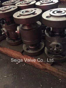 Stainless Steel High Pressure Ball Valve pictures & photos