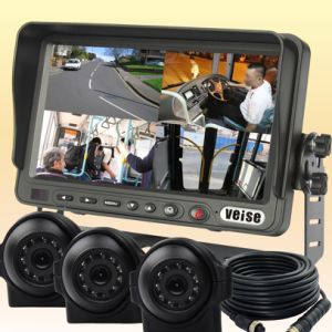 Quad Monitor Rear View System for Truck (DF-73705103) pictures & photos
