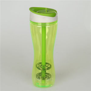 Plastic Salad Cup with Fork/ Plasticsalad Dressing Shaker pictures & photos