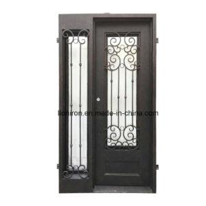 Custom Security Wrought Iron Door with Window pictures & photos