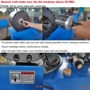 """Hydraulic Hose Terminal Crimping Press Machine up to 2"""" pictures & photos"""