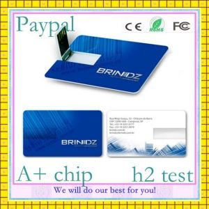 Full Capacity Blank USB Card (GC-B001) pictures & photos