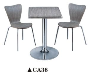 Hot Sale Wooden Restaurant Table and Chairs pictures & photos