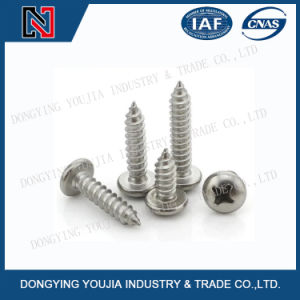 GB845 Stainless Steel Cross Recessed Pan Head Tapping Screw pictures & photos