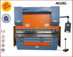 Accurl 2014 New Machinery Hydraulic CNC Brake MB8-80t/5000 Delem Da-66t (Y1+Y2+X+R axis) Press Brake pictures & photos