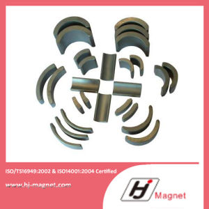 2016 Customized Factory Strong Ferrite Segment Magnet pictures & photos