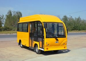 China 14-20 Seat, School, Airport, Small, Shuttletour, Electric Bus pictures & photos