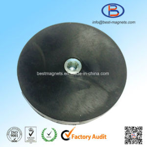Direct Factory Original Supplier of Much Thicker Rubber Coating Disc 88mm Magnet Pot/Gripper pictures & photos