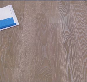 Oak Brushed Hardwood Parquet / Engineered Wood Flooring