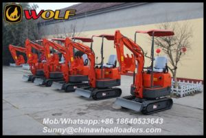 China Mini Digger 800kg Cheap Digger for Sale pictures & photos