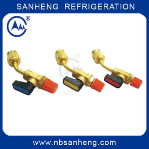 Filling Ball Valve for Charging Hose pictures & photos