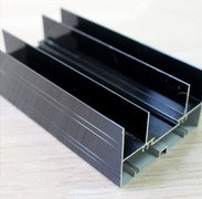 Black Anodizing Aluminium Profile for Sliding Powder Coating, Thermal Break, Anodizing, Silver Polishing, Golden Polishing pictures & photos