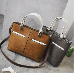 China Factory Price Women Letaher Handbag pictures & photos