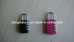 Zinc Alloy Die Casting Combination Padlock (YH26) pictures & photos