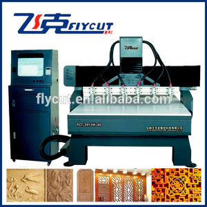 CNC Relief Machinery for Wood Processing 2013W-6s pictures & photos