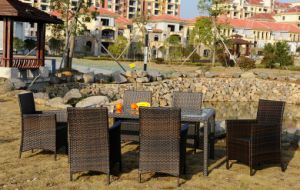 SGS Approved Rattan Garden Furniture