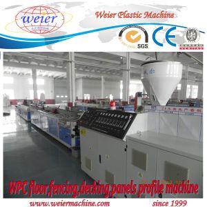 WPC PVC PE Profile Decking Extrusion Line pictures & photos