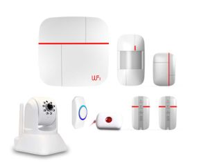 Smart WiFi & GSM Alarm System with Camera (ES-VCARE-B) pictures & photos