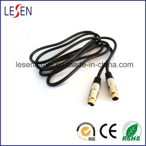 Gold Plated S-Vhs Plug to Gold Plated S-Vhs Plug Cable pictures & photos