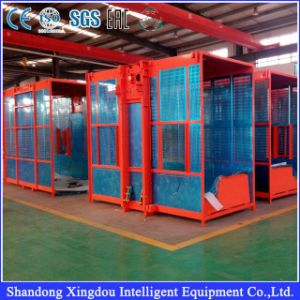 Frequency Hoist Electrial Building Lift with Double Cage pictures & photos