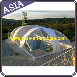 Clear Inflatable Bubble Tent for Swimming Pool, Transparent Inflatable Bubble Tent pictures & photos