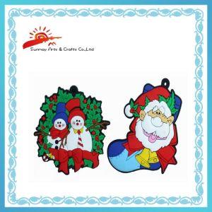 PVC Christmas Keychains (SMK2336)