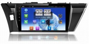 """10.1"""" Big Screen Android 4.4 Car Navigation System for Toyota Corolla 2014 with 1024 * 600 Resolution and DVR Camera Input"""