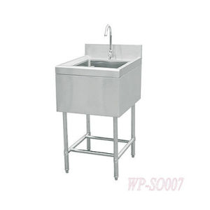 Stainless Steel Single Sink with or Without Under Shelf pictures & photos