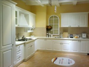 New European Style Kitchen Cabinet (hot designs) pictures & photos