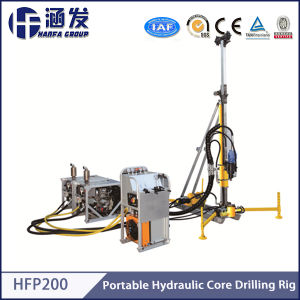 Hfp200 Portable Hydraulic Wireline Core Drilling Machine Price pictures & photos