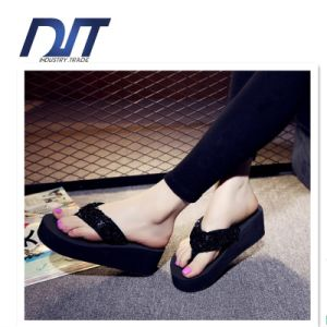 China High Quality Factory Pringting EVA Slipper China Thick Flipflop pictures & photos