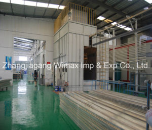 Aluminum Curtain Wall Paint Spraying Machine pictures & photos