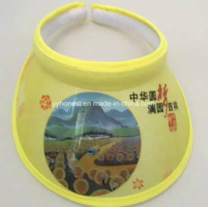 Hot Selling Cheapest PVC Sun Visor Cap and Hat pictures & photos