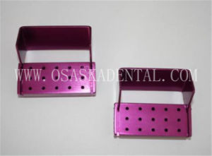 Opening Ra Burs Disinfection Box for Endo Files Sterilization 15 Holes pictures & photos