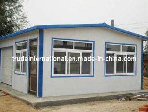 Light Steel Sandwich Panel Mobile/Modular Building/Prefabricated/Prefab  Office Building