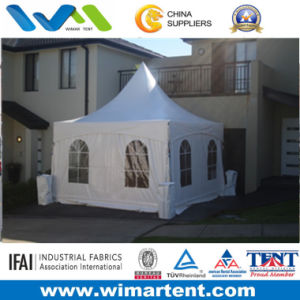 3m-6m White PVC Gazebo Tent for Sale pictures & photos