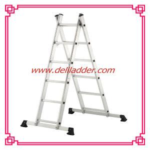 Aluminum Folding Ladder Scaffolding Ladder 2X6 (DLSL101) pictures & photos