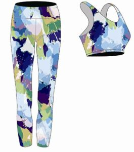 Wholesale Sexy OEM Colorful Bodybuilding Yoga Wear for Women pictures & photos
