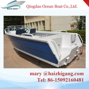 Australia Design 5m/17FT Runabout Aluminum Fishing Boat Runabout Boat pictures & photos