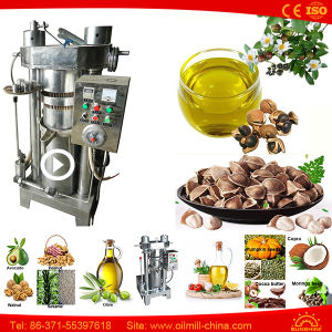Sesame Almond Peanut Pumpkin Moringa Oil Mill Machinery Prices pictures & photos